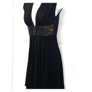 Women's sky belted dress size small
